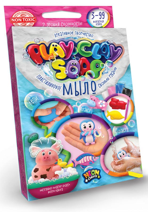 Набір креативної творчості 'Пластилінове Мило 'PLAY CLAY SOAP' малий укр (32шт)