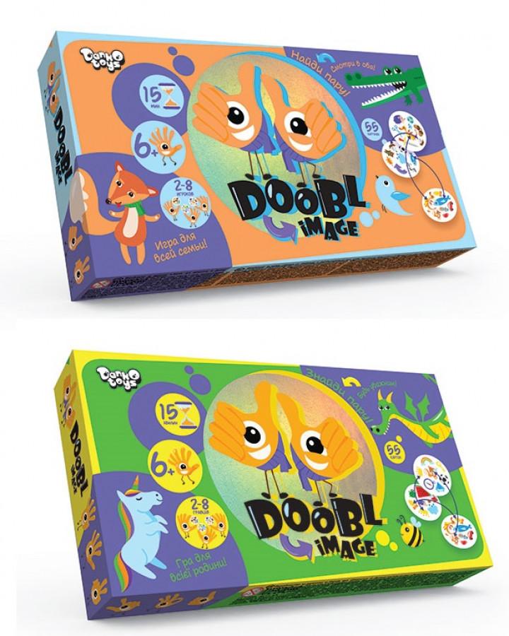 Гра настільна розважальна 'DOOBL IMAGE' укр(12шт), DBL-01-01U