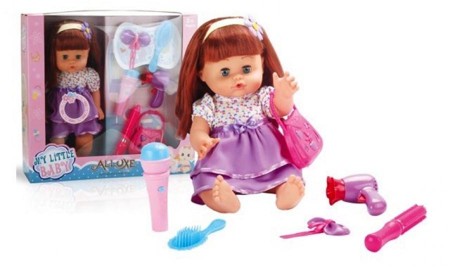 Лялька (12шт) вінілова, 16 дюймів,42х40х12