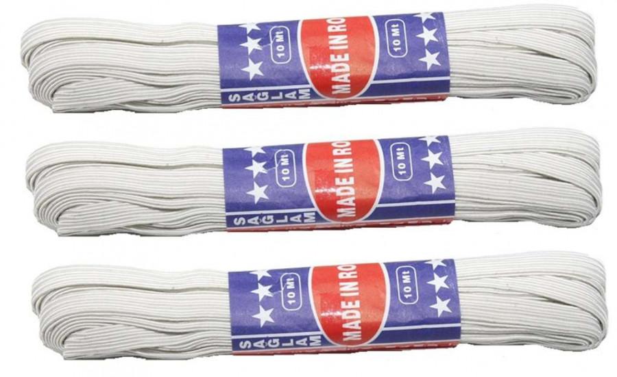 Резинка для білизни (300шт) біла  ціна за 1 шт. в уп 4