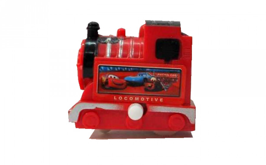 Заводна іграшка (1500шт) Паровозик,4 вида,в пакеті 4,5*4,5*3см