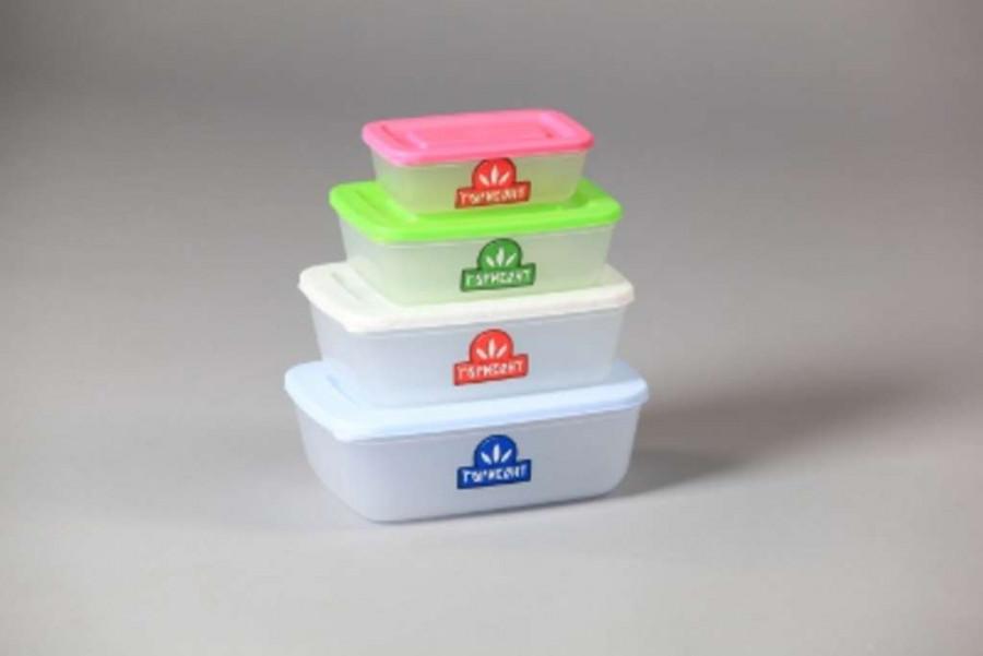 Контейнер для харчових продуктів 0,5л (уп.5шт)