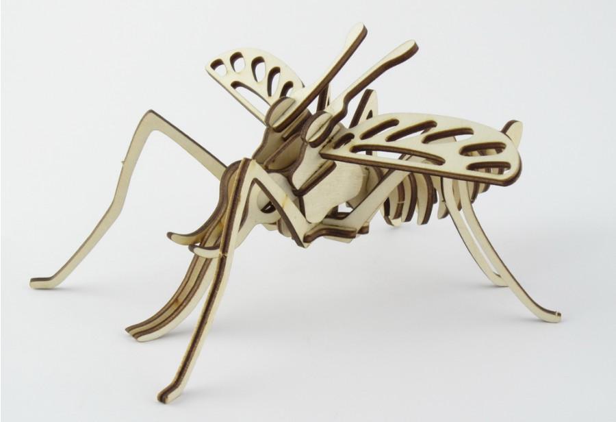 Пазл 3D 'Комар' серія 'Комахи',модель-23*22*11см.