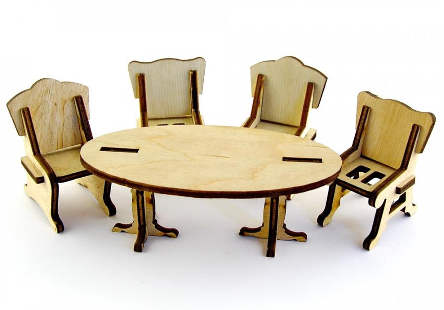 Пазл 3D 'Столова' серія 'Дитячі меблі',модель-см.