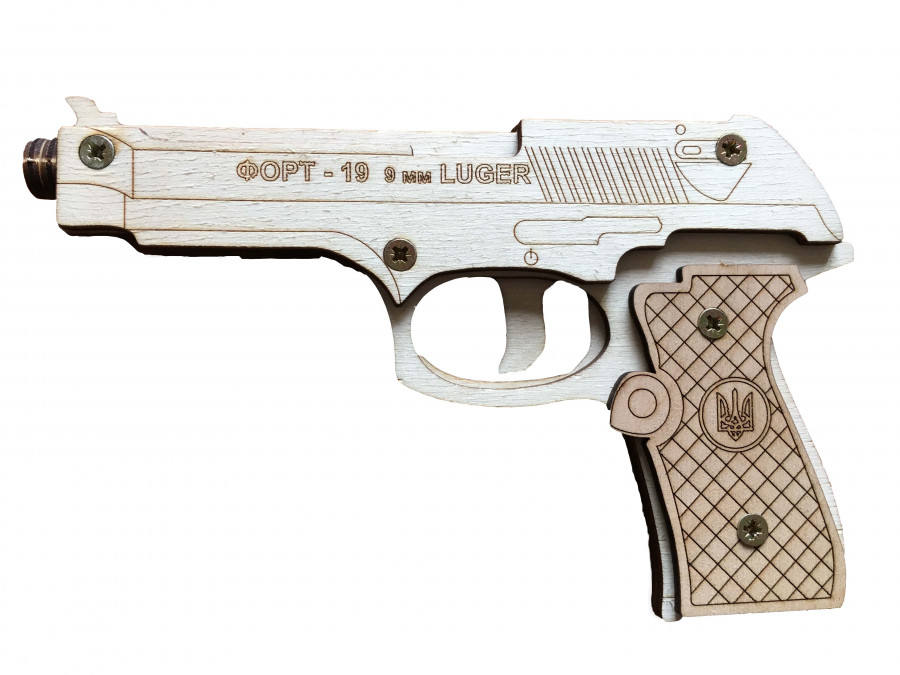 Пазл 3D 'Форт-19' серія 'Зброя',модель-20*12,5см.