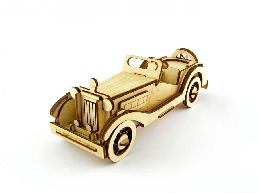 Пазл 3D ,,MG Roadster,, серія ,,Ретро авто,,