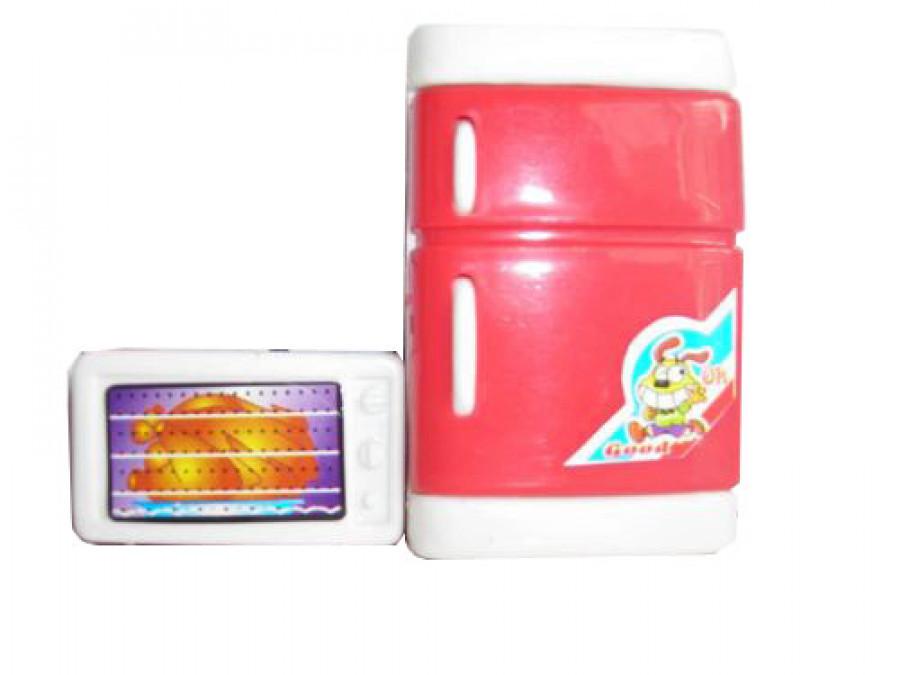 Набір побутової техніки (768шт) кухня холодильник,мікрохвильовка,в пакті 8*5см