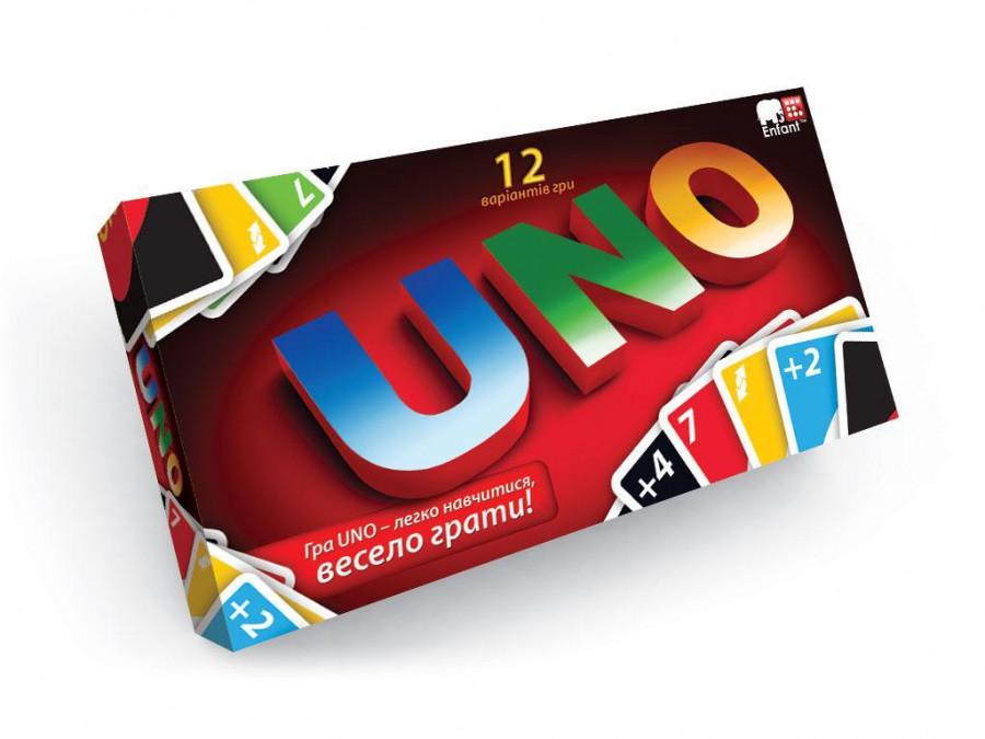 Гра настільна мала 'UNO' (12шт), SP G 11