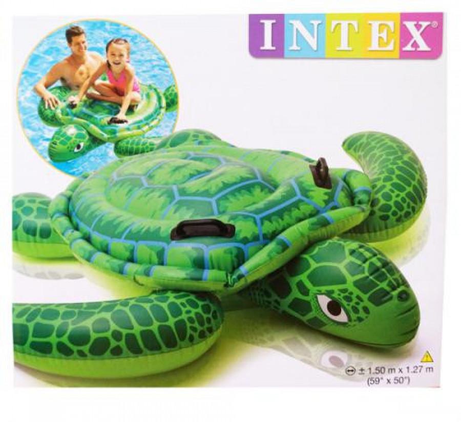 Плотик (6шт) черепаха,150-127см,ручки 2шт,повітр. камери2шт,до 40кг,рем запл,в кор-ці,25,5-23-