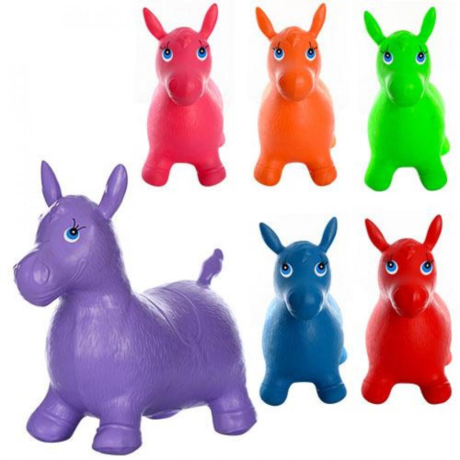 Коники-стрибунці (12шт) ПВХ, 1250г, 6 кольорів, в кульку, 37-30-5см