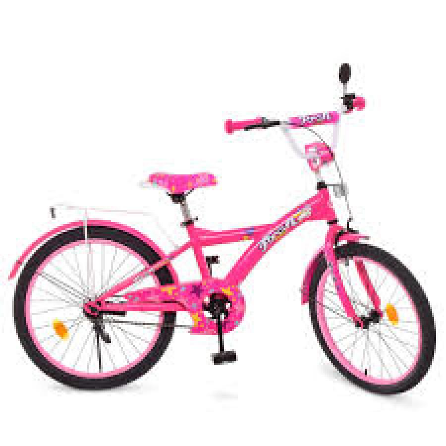 Велосипед детский PROF1 20д. T2062 (1шт) Original girl,малиновый,звонок,подножка