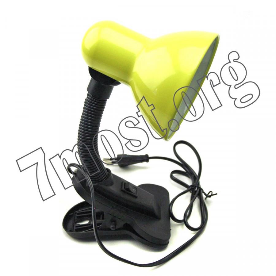 Лампа (60шт) з прищ. з кноп. викл. металопл. 6кол Д-11см L-27см керам. в кл.