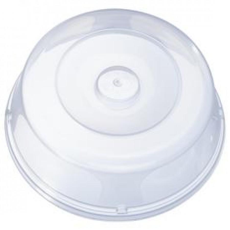 Кришка пластикова для мікрохвильовки D27см (35шт)