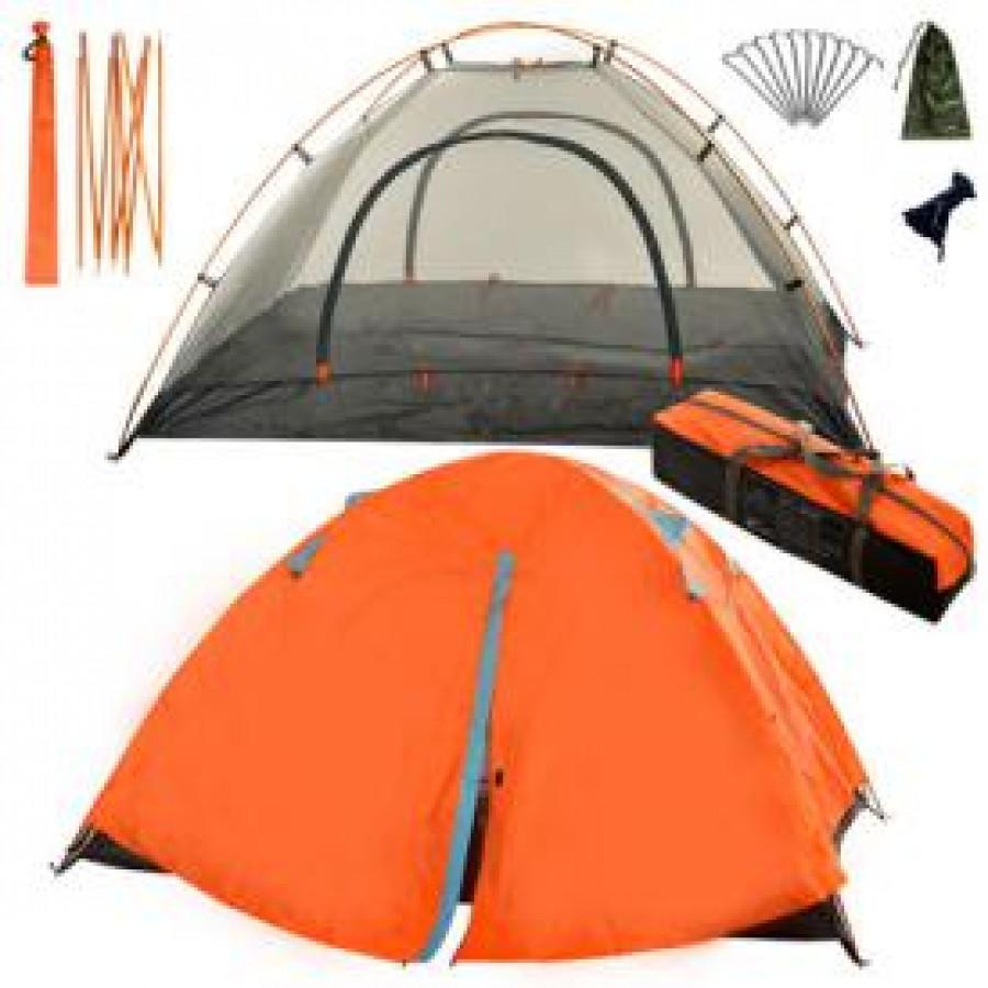 Палатка туристична 'LUX' (алюм.профіль, сітка, чохол) 2*1.4*1.1м (15шт)