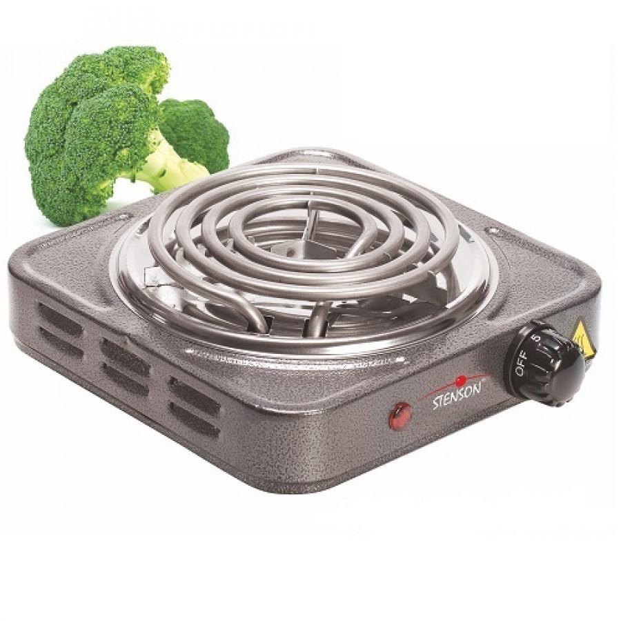 Плита электрична переносна 1000w d140мм ME-0012G (12шт)