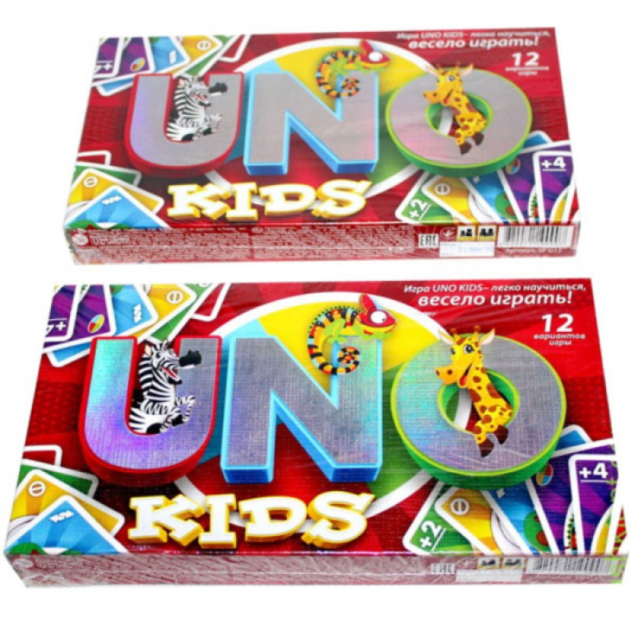 Гра настільна мала 'UNO Kids' (12шт), SP G 11