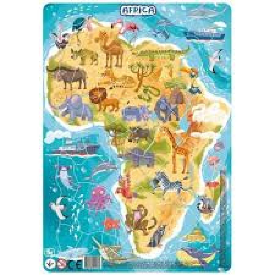 Пазл з рамкою 53 ел. Африка