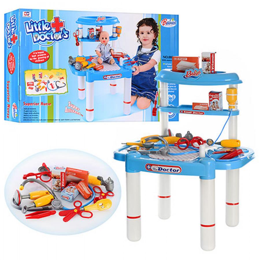 Лікар (8шт) столик, в коробці, 62-39-9см