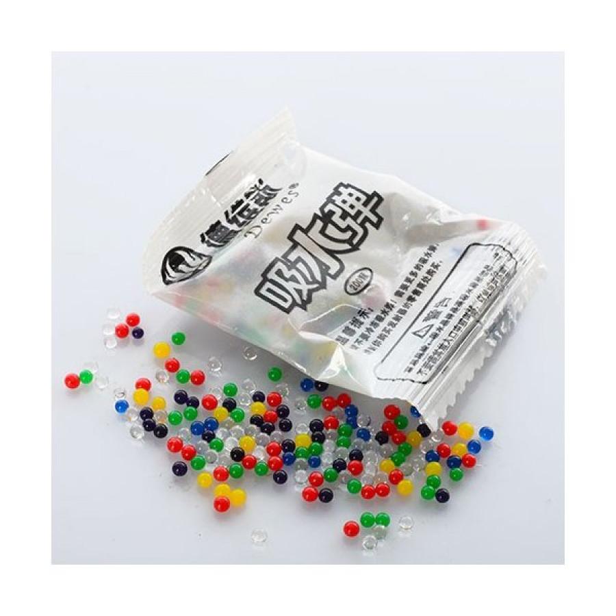 Водяні кульки (10000шт) 200шт в кульку, 5,5-4см,  5 в'зок по 100 кульків