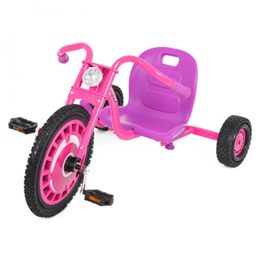 Велосипед (1шт) три колеса, рожевий, в коробці, 99-66-52см