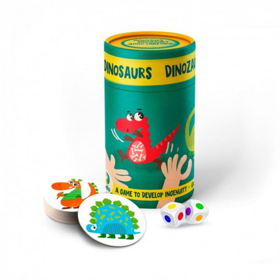 Гра настільна Динозаври