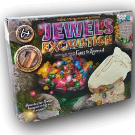 Набір для проведення розкопок 'JEWELS EXCAVATION' камні укр.(6) JEX-01-02