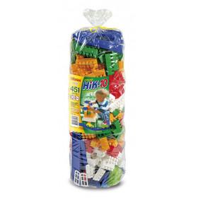 Конструктор дитячий 'НІК-10' (451дет.) паяний кульок