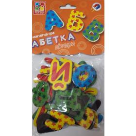 Магнітна гра 'Абетка' VT5900-02 (укр)