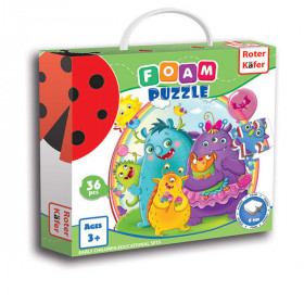 Пазли М'які Foam puzzles Monsters RK1202-05