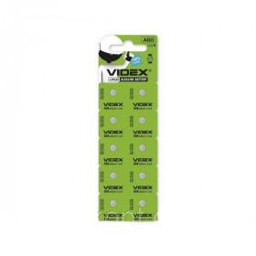 Батарейка Videx AG11 (LR721) blister 10 шт (ціна за планшет)