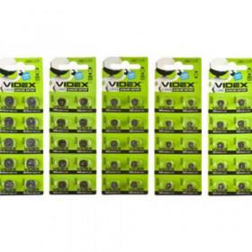 Батарейка Videx AG13 blister 10 шт (ціна за лист)