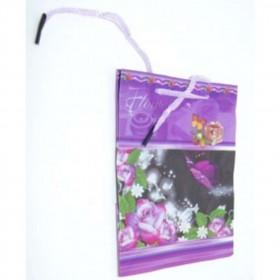 Пакет подарунковий з квітами 14*11*5 (2400шт)