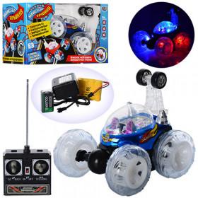 Машина (24шт) р/к, акум, 17см, трюкова, світлові ефекти, в коробці, 29-18-16,5см
