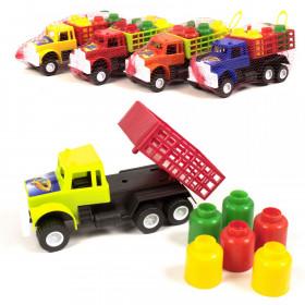 Машина 'М' Вантажівка з бідонами (25шт/уп)