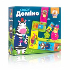 Гра настільна 'CRAZY Доміно' VT8055-10 (укр)