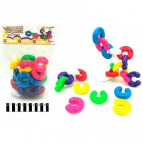 Іграшка дитяча  'Кольоровий ланцюжок № 1 ' артикул 114/16  ТМ 'Bamsic',14 шт коробка