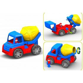 Авто бетонозмішувач М4 (20УП) 16,5-16-27 см