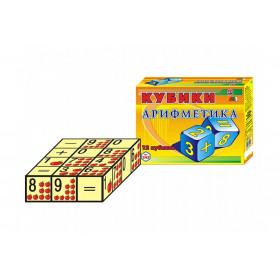 Іграшка кубики  'Арифметика ТехноК'