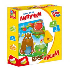 Вжик-вжик Липучки 'Вкусняшки' VT1302-22(укр)