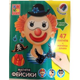 Магнітна гра 'Фейсики' VT3702-15 (укр)