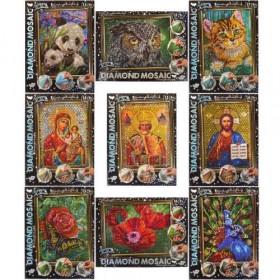 Набір креативної творчості 'Алмазна живопись DIAMOND MOSAIC' малий (10)DM-02-01