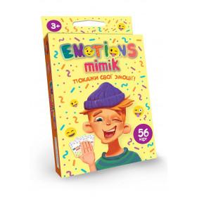 Карткова гра 'Emotions Mimik' укр (32) EM-01-01U