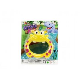 Маска для плавання (144шт) регулючий ремінець, 14-13см, 4 кольори, на листі, 19-22,5-6см