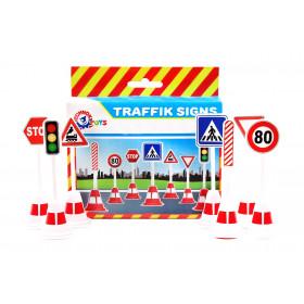 Набір дорожніх знаків ТехноК', арт.4357