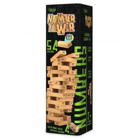 Розвиваюча настільна гра 'NUMBER TOWER' укр.(6)NT-01U