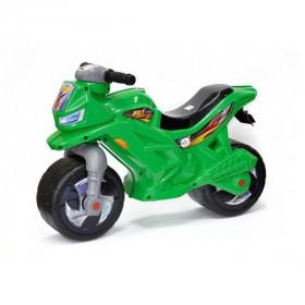 Мотоцикл Беговел 2-х колісний з сигналом  зелений