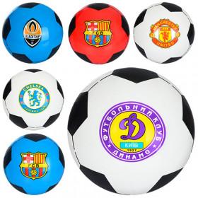 Мяч дитячий  MS 0244-1 (120шт) 8,5 дюймов, одностикерный, ПВХ, 60-65г, 5видов (футб.клуб)
