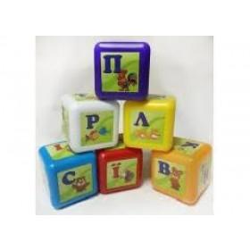 Кубики малі  Абетка 028-4