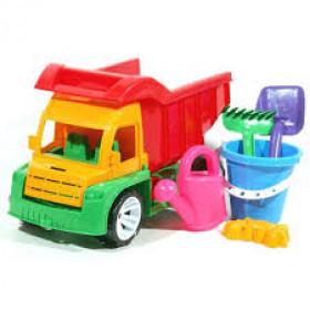 Вантажівка Алекс з відерком +лійка +пасочки