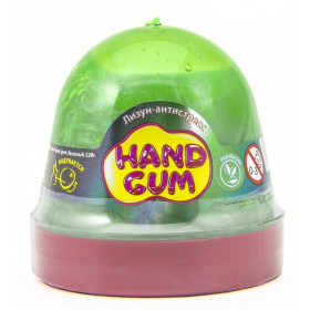 Лизун-антистрес ТМ Mr.Boo Hand gum Зелений 120 г. -УКР 24уп